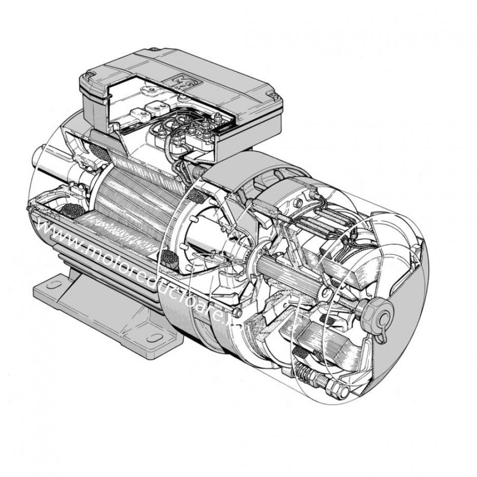 Componentele motorului electric